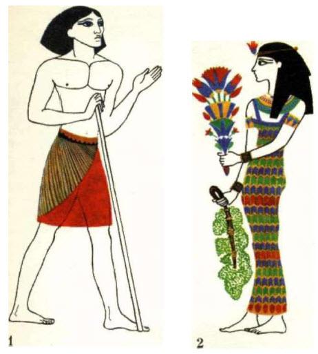 одежда земледельца в древнем египте