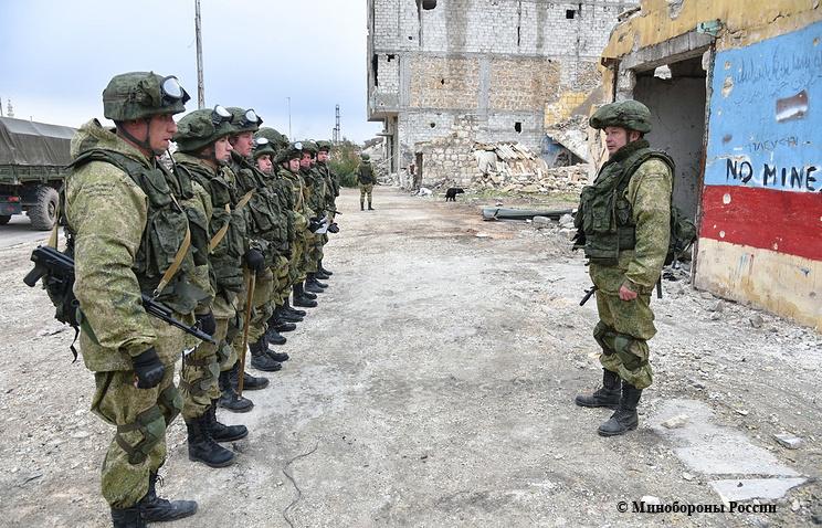 войска рф в сирии