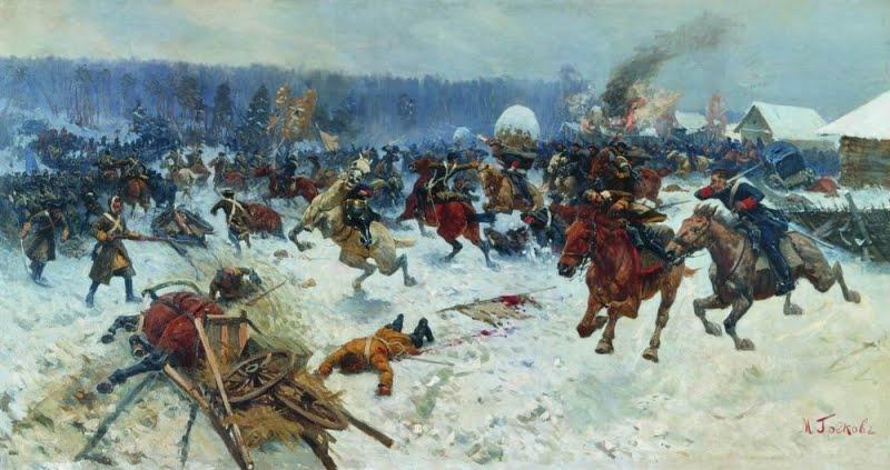 поражение русской армии под нарвой дата