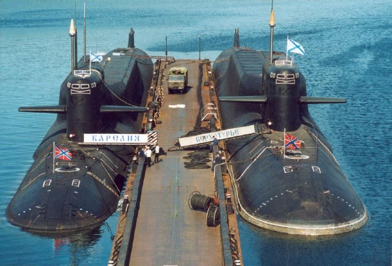 подводная лодка кальмар