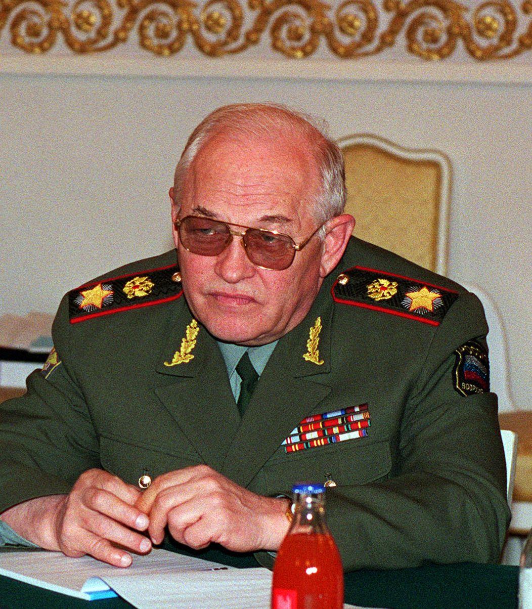 министры обороны россии с 1990 года список