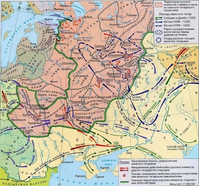 разорение киева монголами