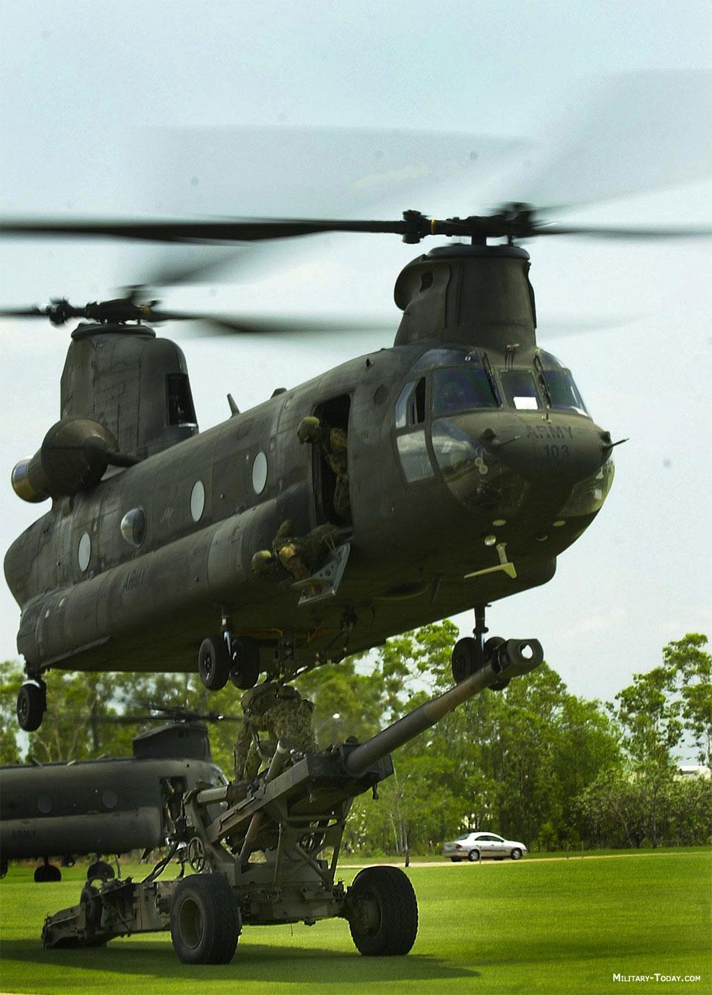 американские военные вертолеты