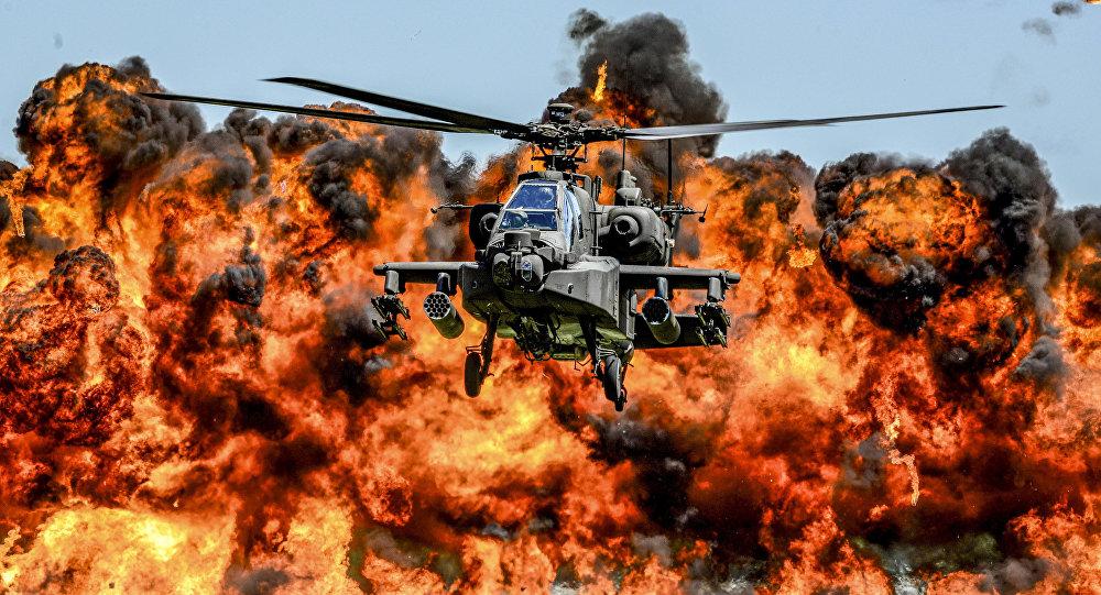 вертолет апач фото