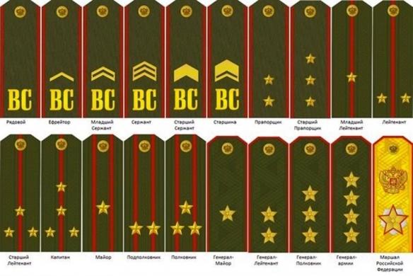 сержантские лычки