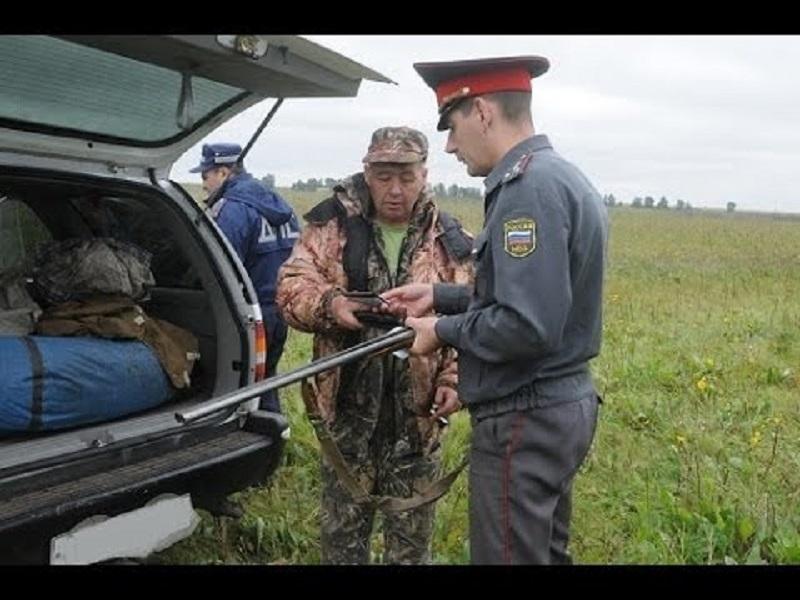 правила перевозки охотничьего оружия