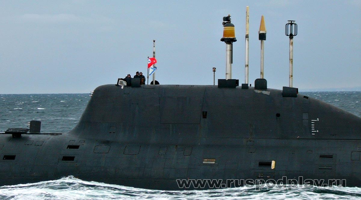 подводные лодки проекта 971 щука б