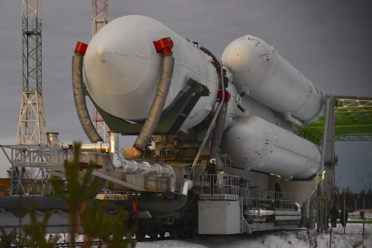 ангара ракета носитель