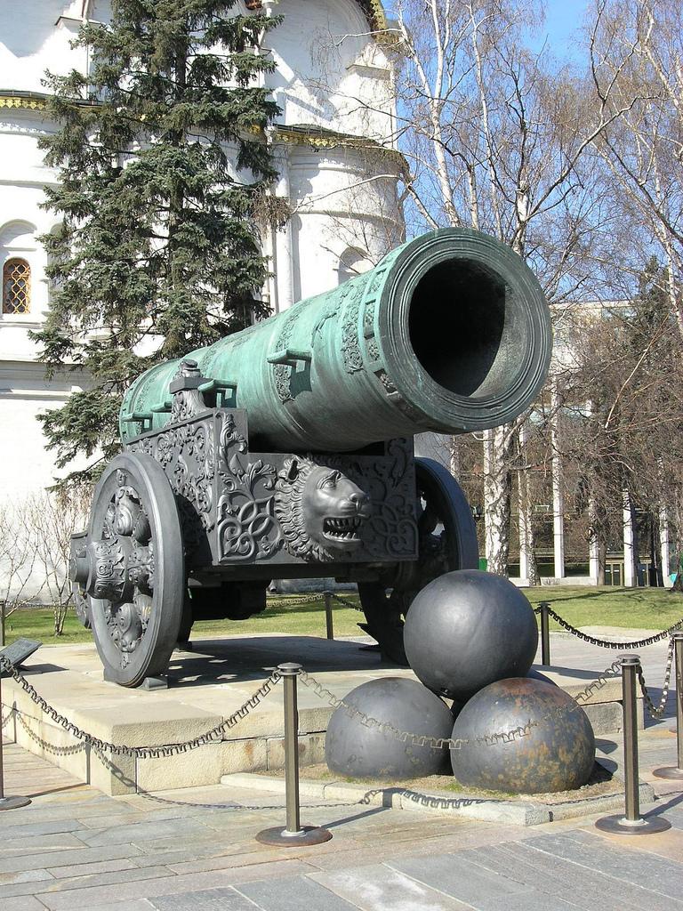царь пушка в москве