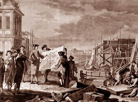 в каком году был заложен санкт петербург