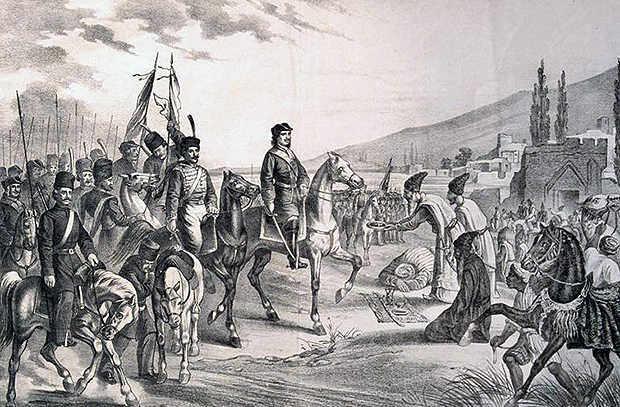 каспийский поход дата