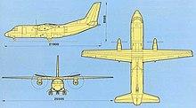 ан самолеты википедия