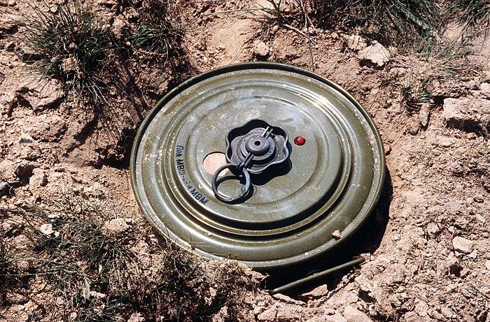 танковая мина