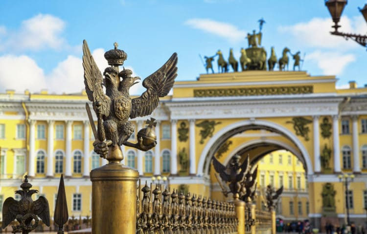 когда санкт петербург стал столицей россии