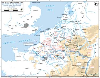 оккупация франции германией