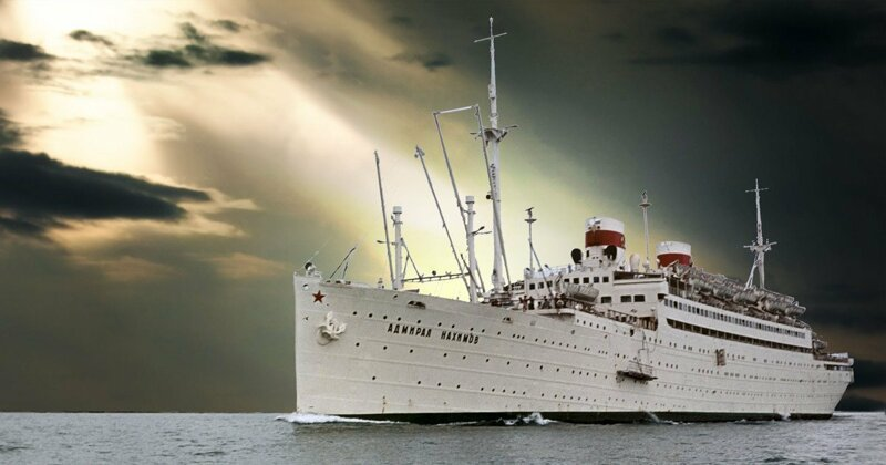 пароход адмирал нахимов гибель