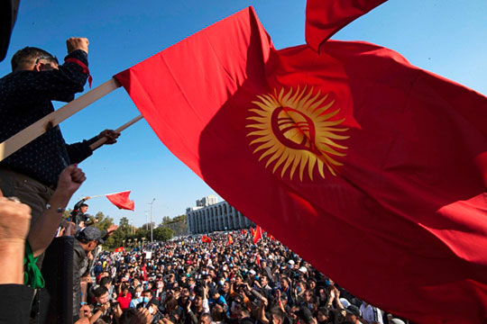 переворот в киргизии