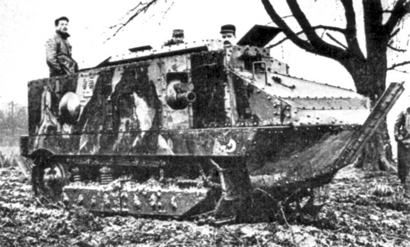 сражение в котором впервые применены танки произошло