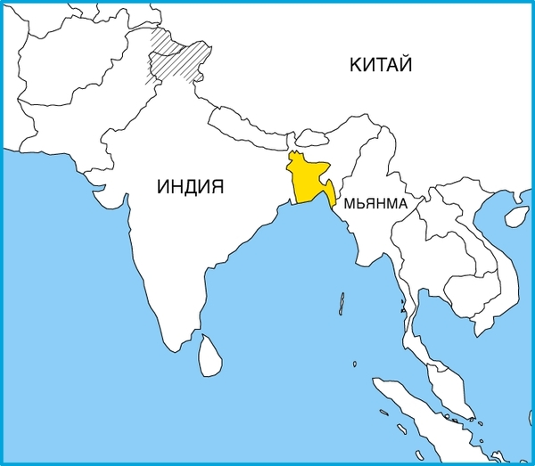 территория бангладеш