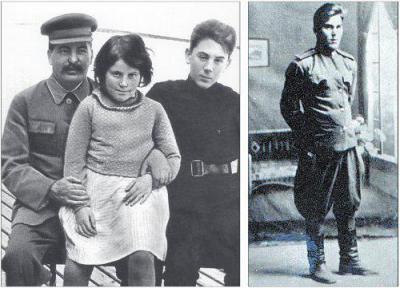 внуки и правнуки сталина