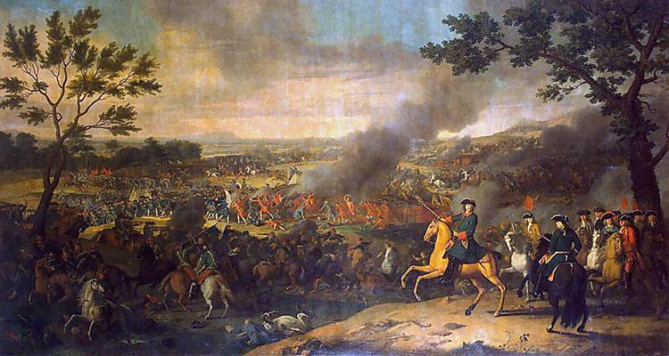 важнейшие сражения северной войны