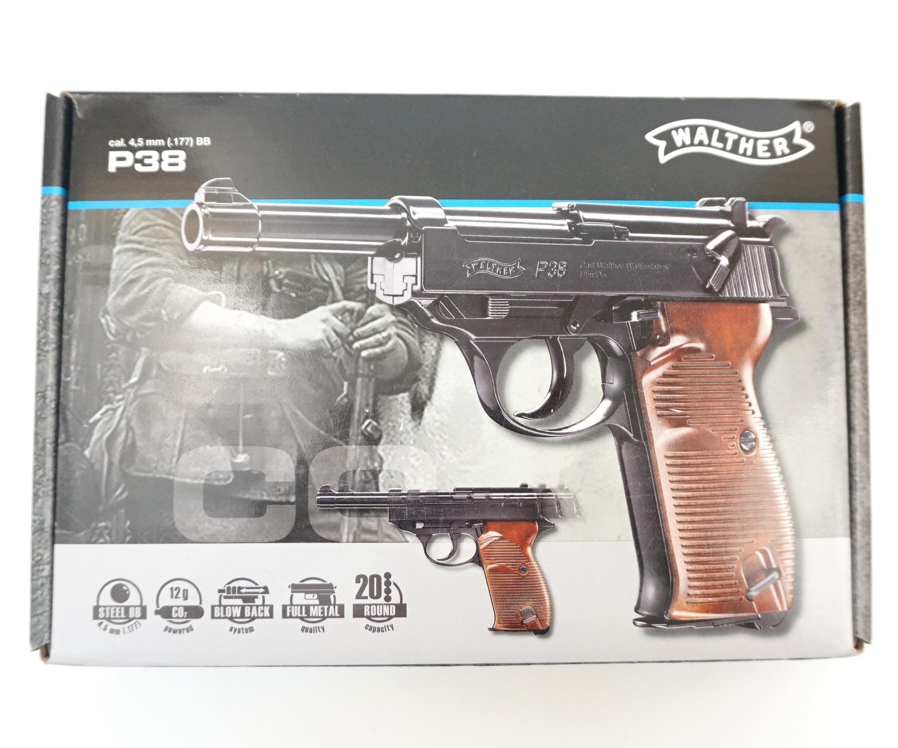 пистолет вальтер р38