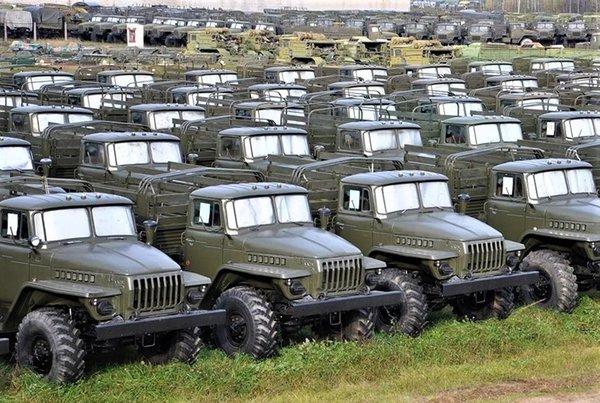 распродажа военной техники с консервации