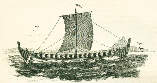 как называли корабли викингов