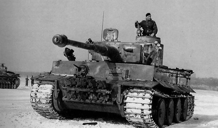 танки немцев