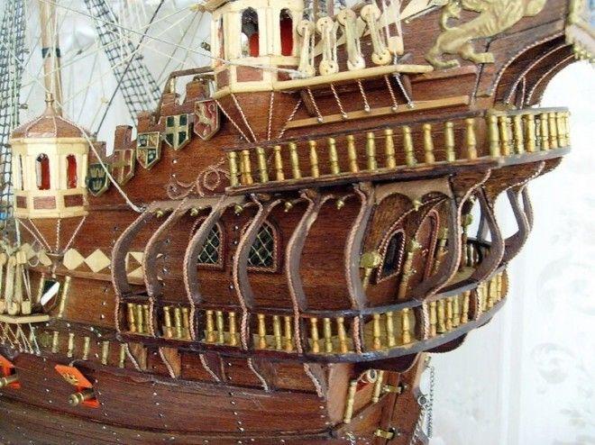 гальюн на парусном корабле