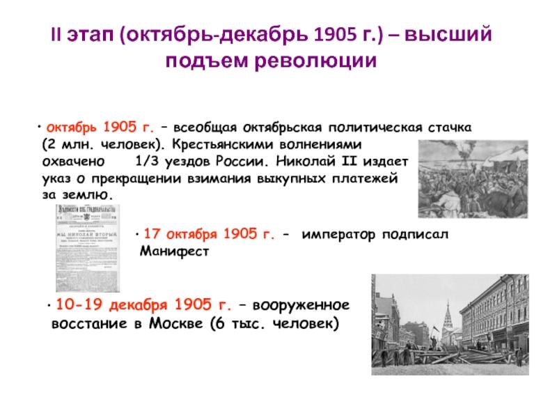 вооруженное восстание в москве дата