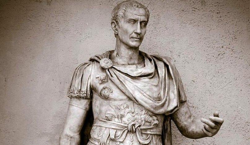 как погиб юлий цезарь