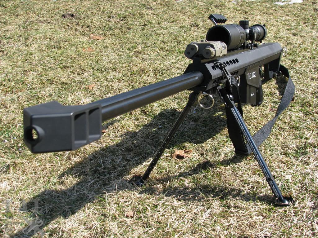 тяжелая снайперская винтовка