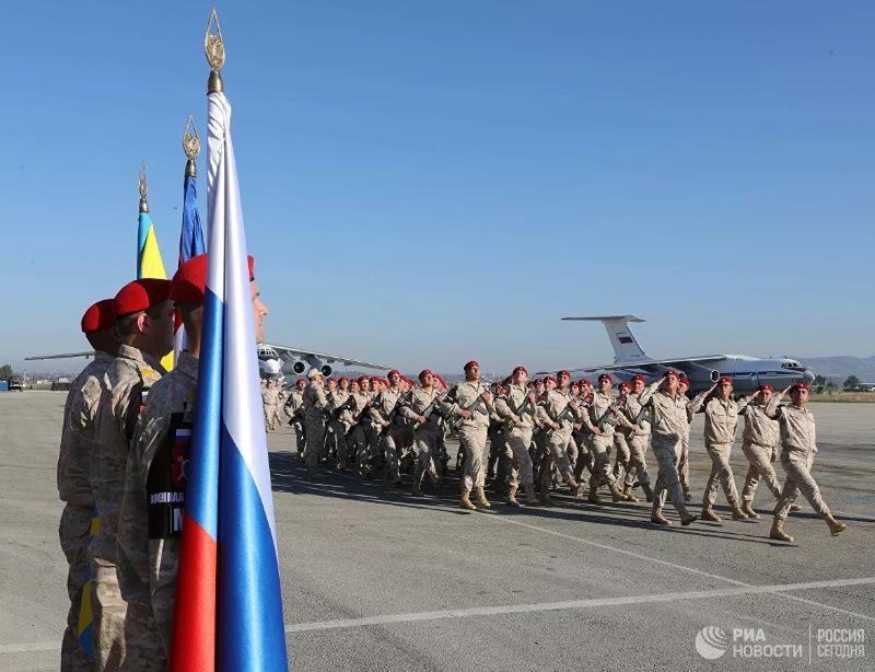война в сирии российские войска