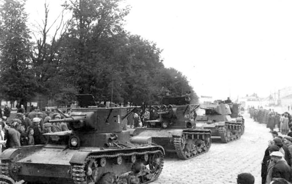парад в бресте 22 сентября 1939 года