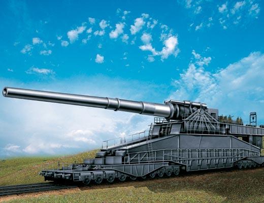 немецкое орудие дора