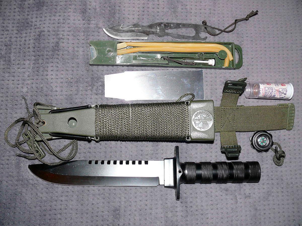 нож для выживания в экстремальных условиях