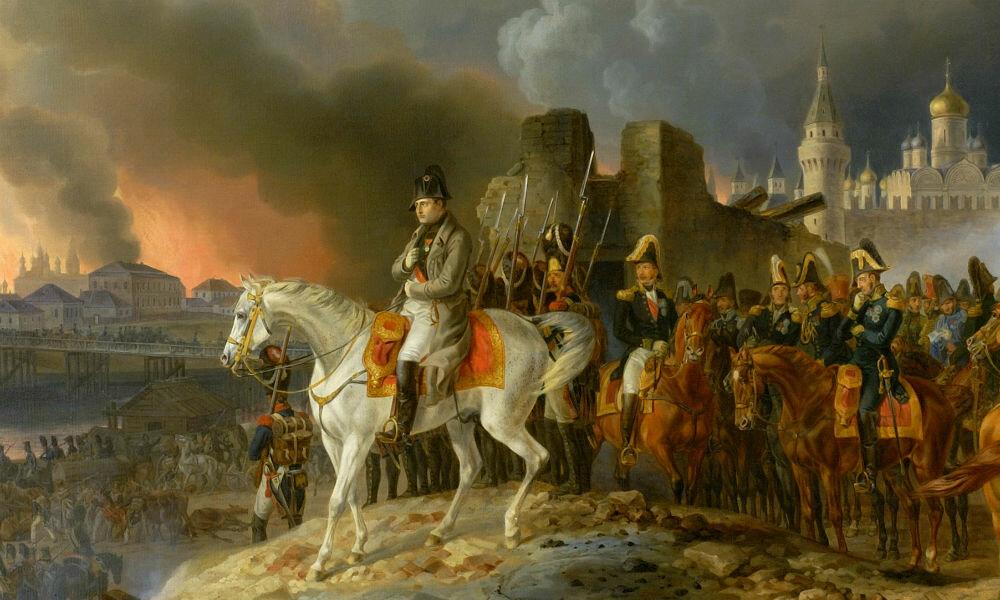 столица российской империи в 1812 году