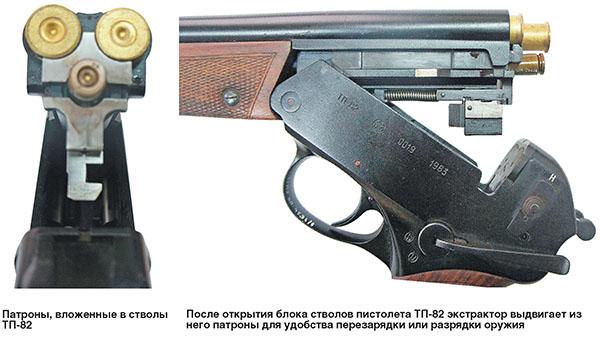 трехствольный пистолет
