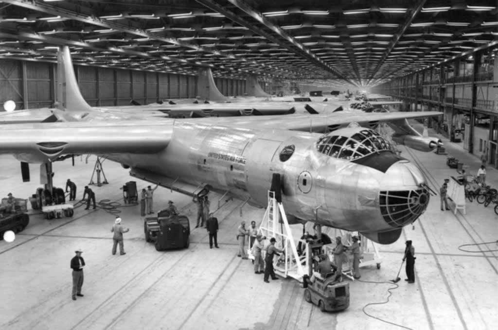 b 36 бомбардировщик