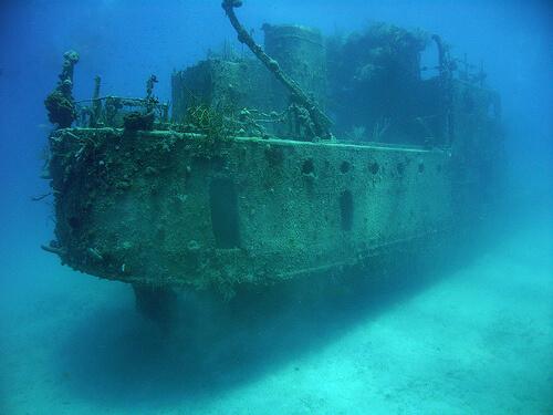 затонувшие корабли и подлодки