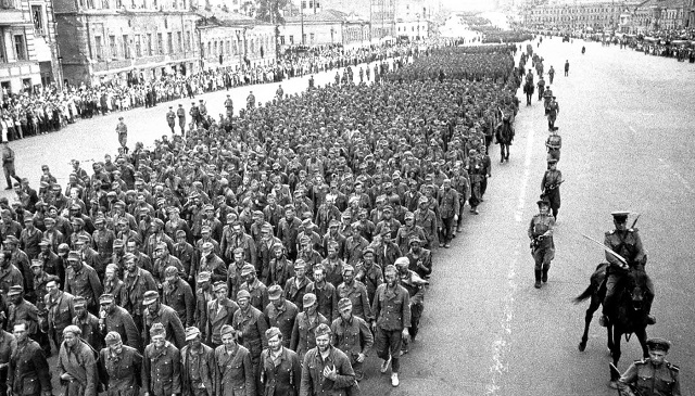 парад побежденных
