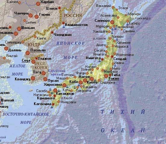 япония архипелаг