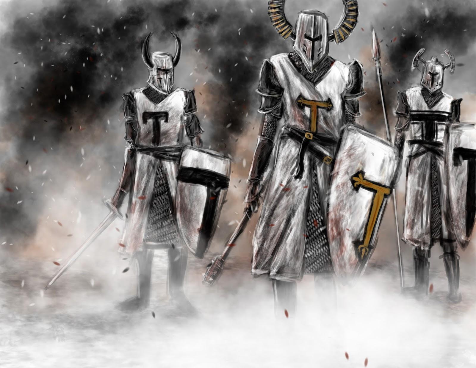 крестовые походы духовно рыцарские ордена