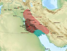 ассирия на карте