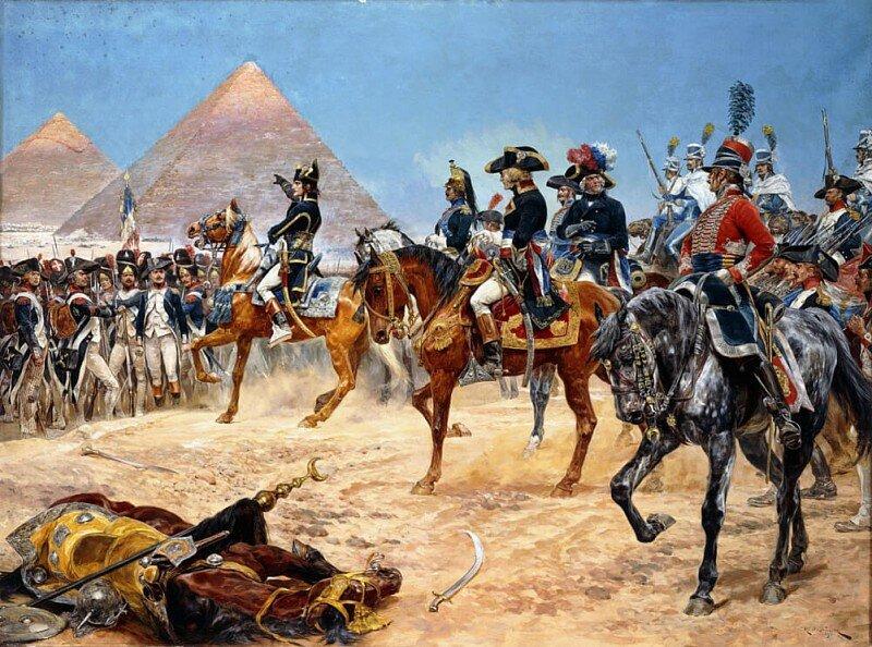 поход наполеона в египет