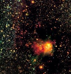 звезды формируются из