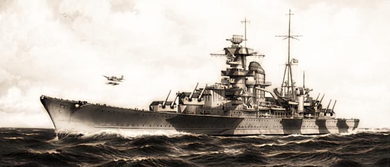 admiral scheer 1933