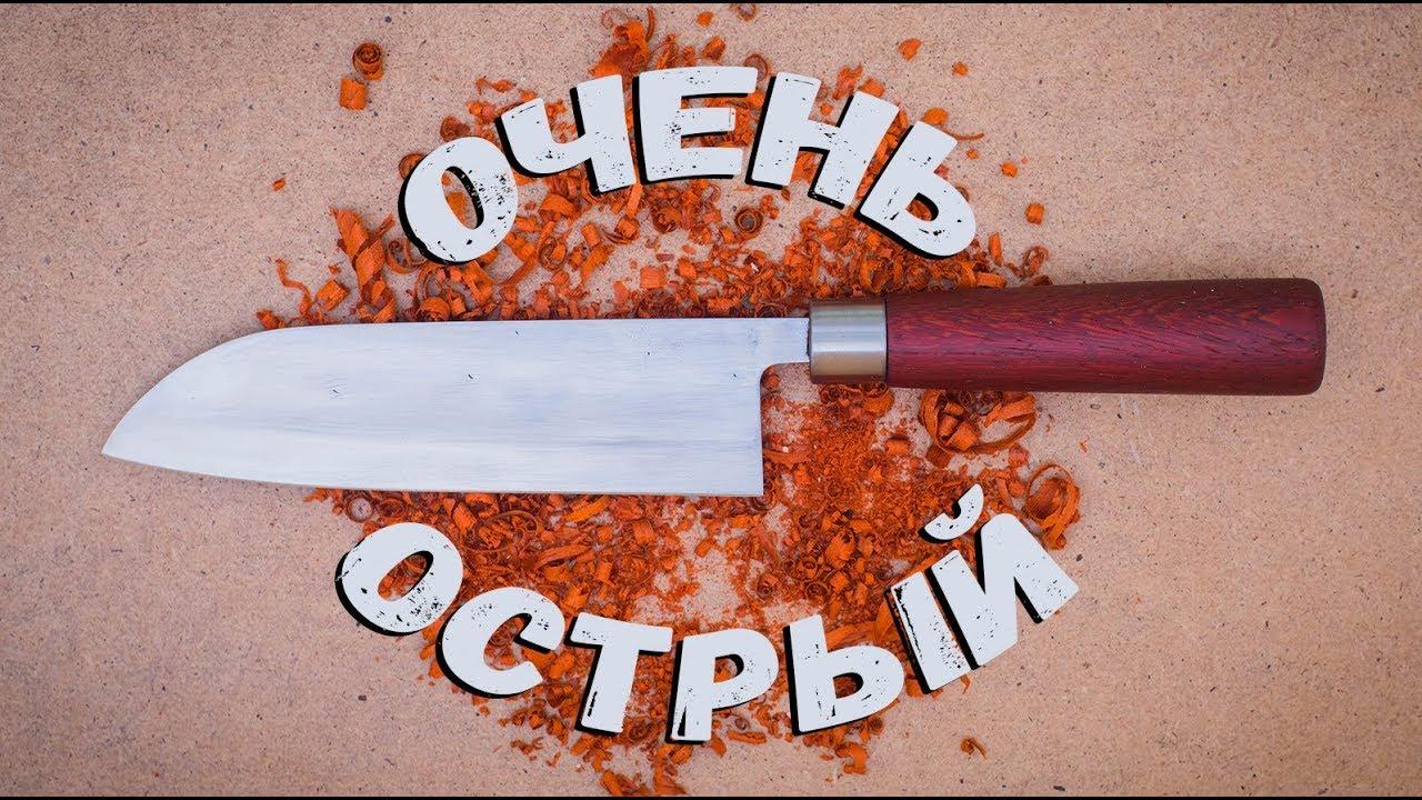 строение ножа