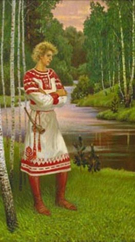 одежда славян древней руси